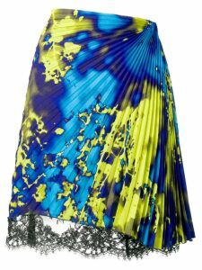MSGM micro pleated skirt - Blue