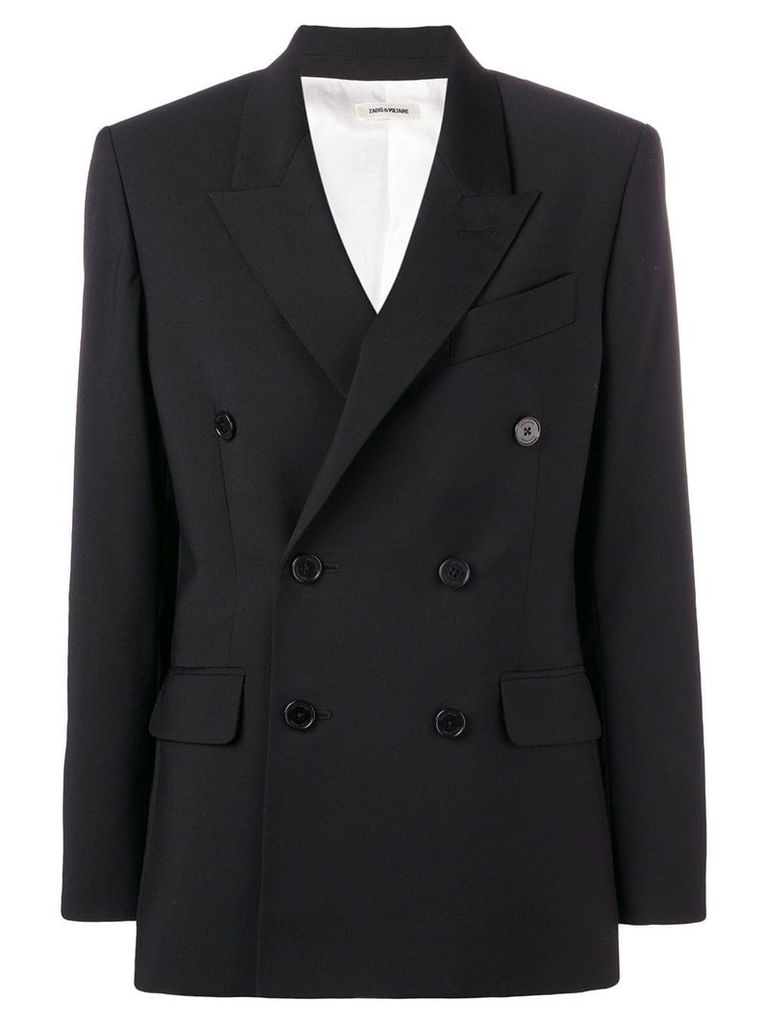 Zadig & Voltaire Fashion Show double-breasted blazer - Black