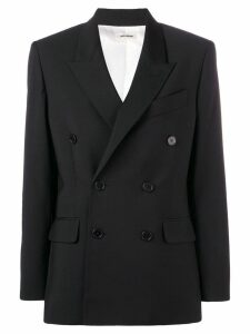 Zadig & Voltaire Fashion Show double-breasted blazer - Black