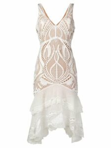 Jonathan Simkhai lace midi dress - White