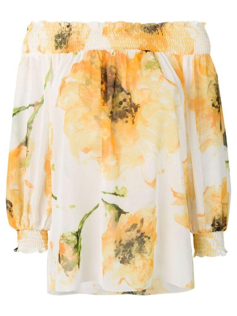 Blugirl flower print top - White