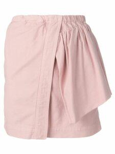 Nº21 asymmetric style skirt - Pink