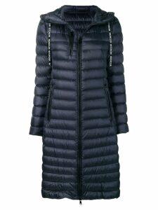 Moncler padded rain coat - Blue