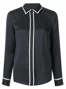 Equipment contrast piping shirt - Black