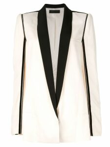 Haider Ackermann long blazer jacket - White