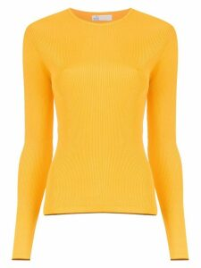 Nk knitted ribbed top - Yellow