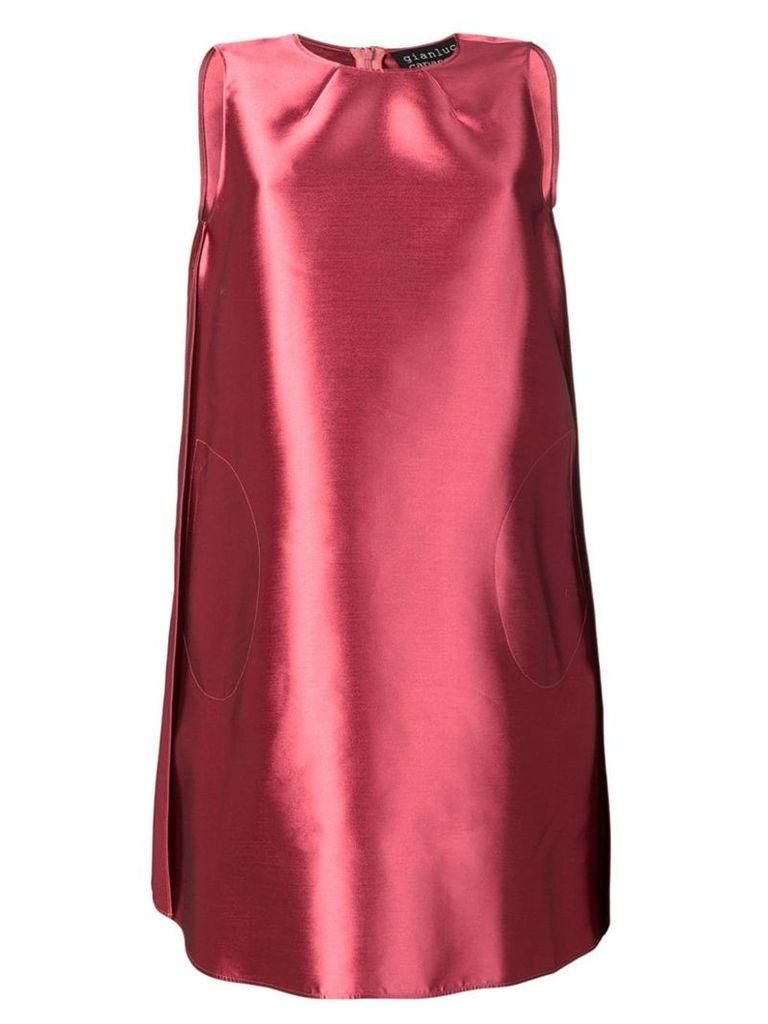 Gianluca Capannolo sleeveless A-line dress - Pink