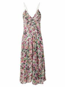 Iro floral print midi dress - Pink