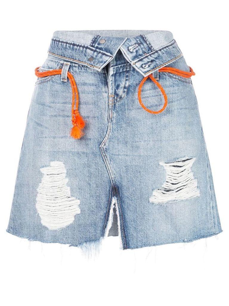 Hudson Sloane skirt - Blue