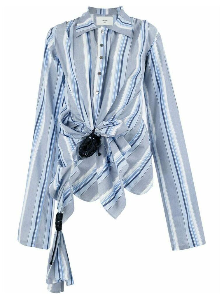 Quetsche striped shirt - Blue