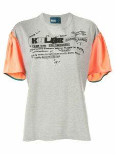 Kolor logo T-shirt - Grey