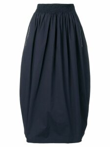 Fabiana Filippi high rise balloon midi skirt - Blue