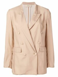 Maison Flaneur double breasted blazer - Neutrals
