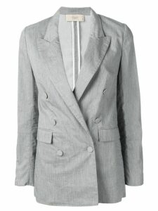 Maison Flaneur double breasted blazer - Grey
