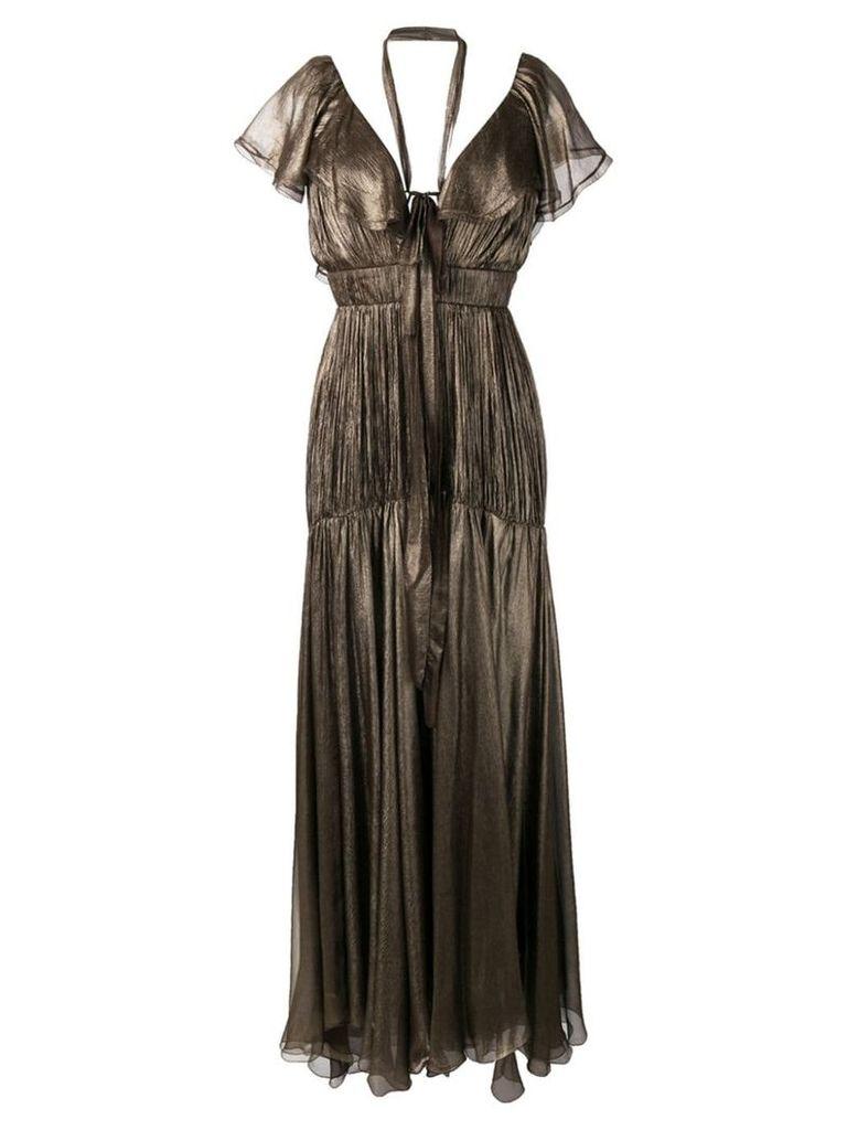 Maria Lucia Hohan Zelda dress - Brown
