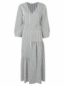 Chinti & Parker belted striped dress - Neutrals