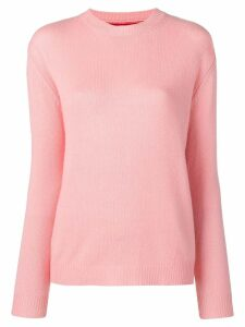 Chinti & Parker contrasting panel knitted jumper - Red