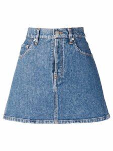Simon Miller mini denim skirt - Blue