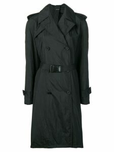 Maison Margiela belted trench coat - Black