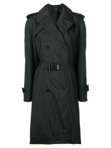 Maison Margiela belted trench coat - Black