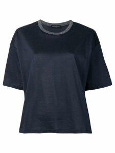 Fabiana Filippi boxy T-shirt - Blue