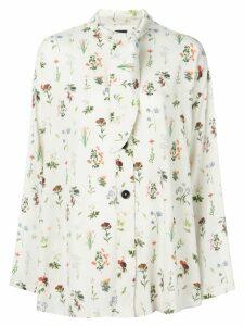 Fay floral print blouse - White