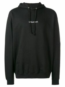 F.A.M.T. 'influenced' hoodie - Black