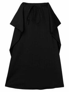 Lemaire drawstring waist skirt - Black