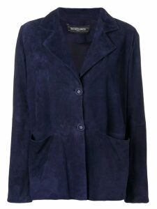 Simonetta Ravizza single breasted blazer jacket - Blue