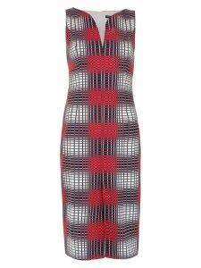 Reinaldo Lourenço checked dress - Multicolour