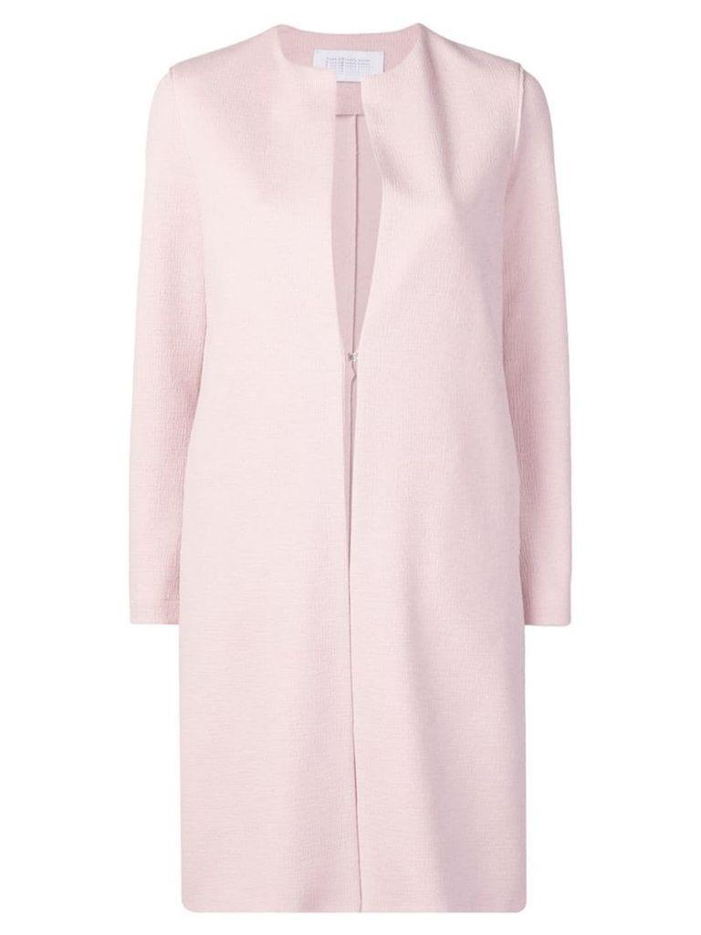 Harris Wharf London collarless coat - Pink