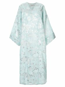 Bambah oversized printed dress - Green