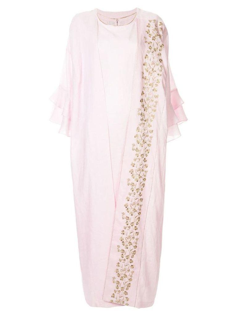 Bambah Isabella maxi kaftan dress - Pink