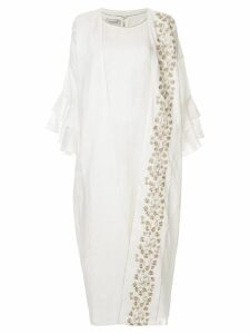 Bambah Isabella maxi kaftan dress - White