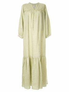 Bambah Elizabeth kaftan style dress - Green