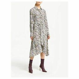 Finery Yvonne Snake Print Dress, Multi