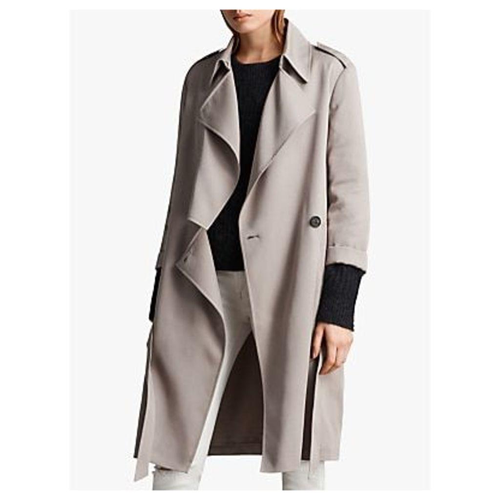 AllSaints Bexley Mac Coat