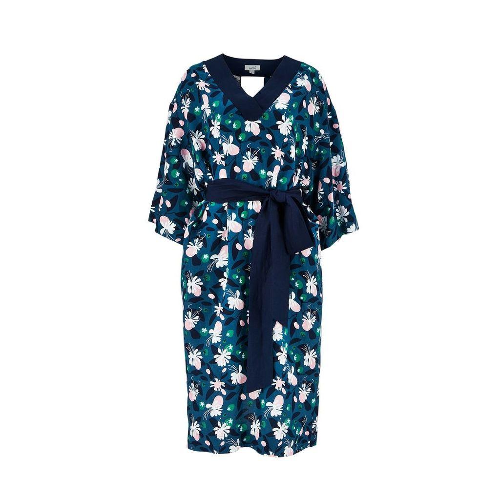 Fayri - Mika Back Cutout Dress Jade Mystic