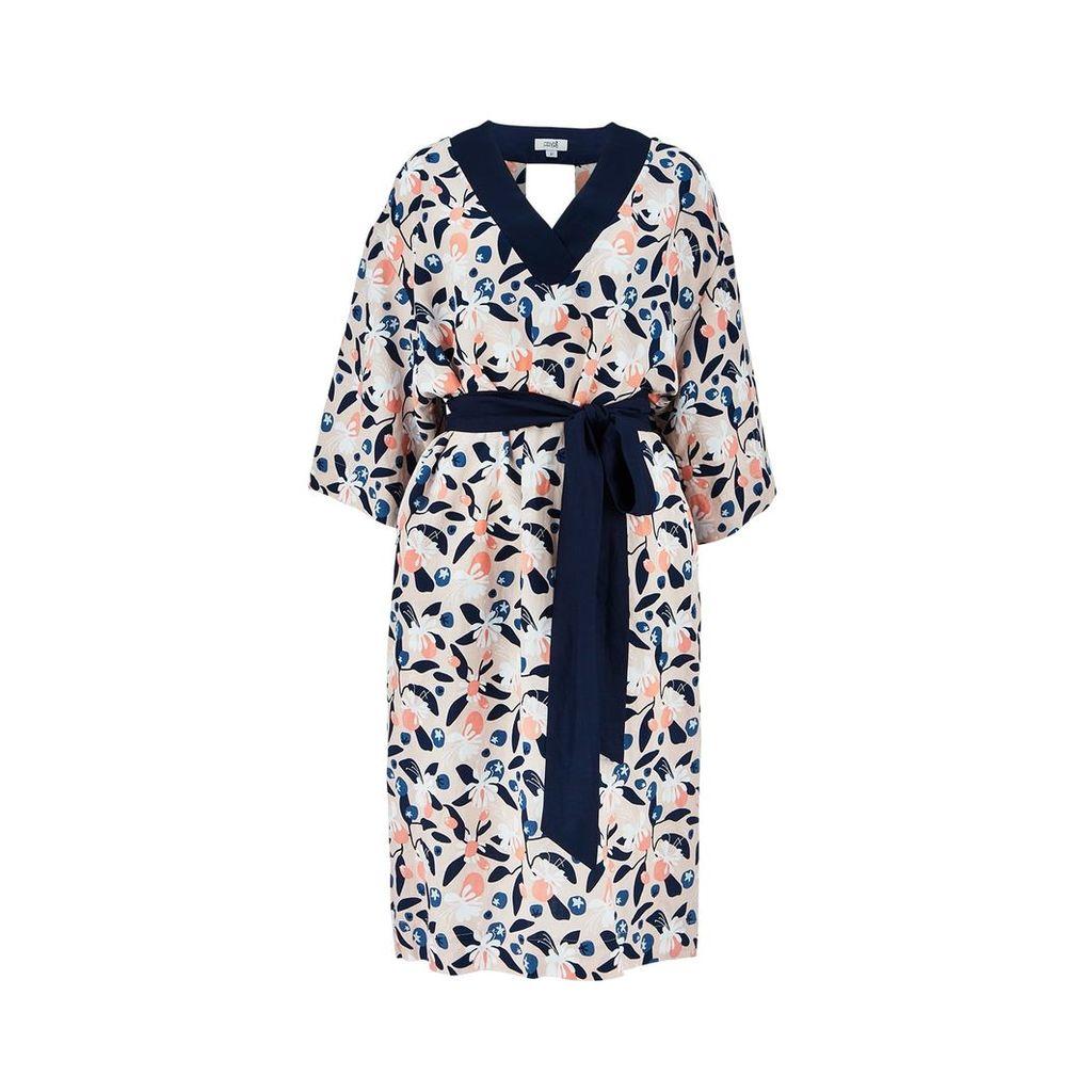 Fayri - Mika Back Cutout Dress Peach Breeze