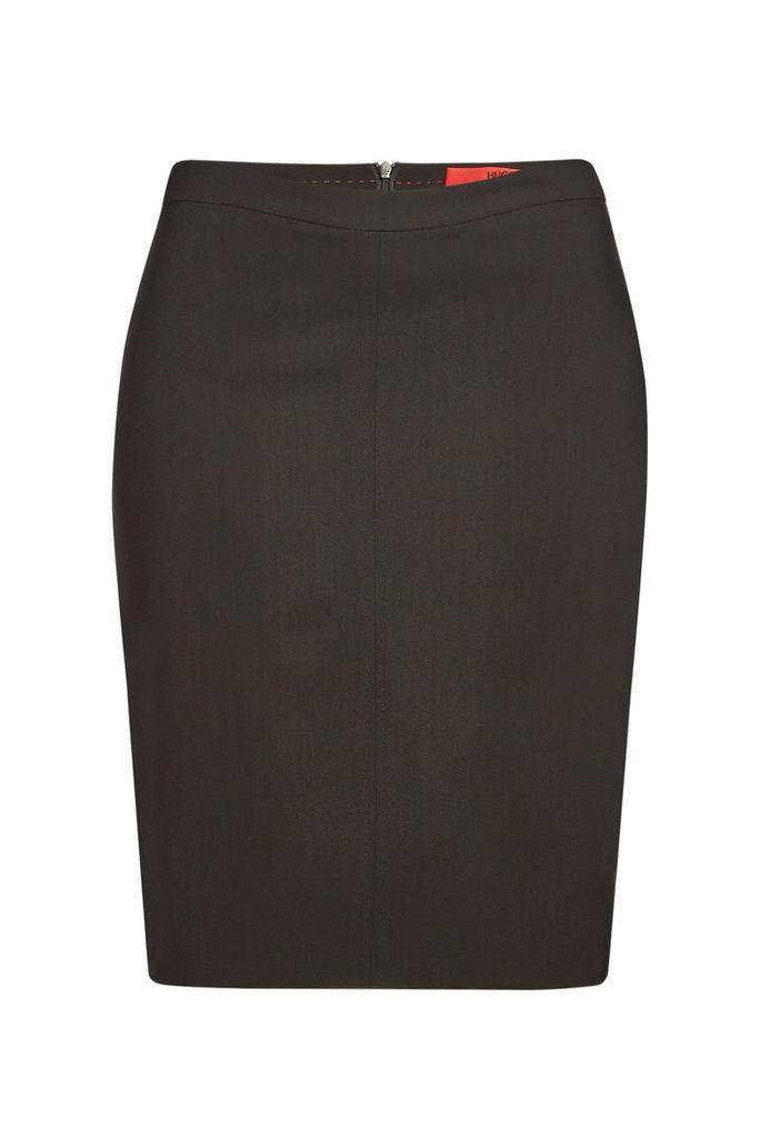 Hugo Stretch Wool Rova Skirt