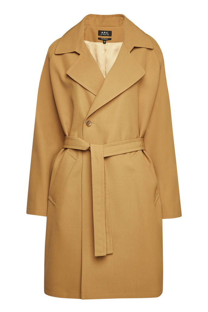 A.P.C. Bakerstreet Belted Trench Coat