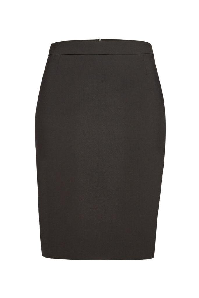 Boss Stretch Wool Vilea Skirt