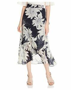 Vince Camuto Floral-Print Midi Wrap Skirt - 100% Exclusive