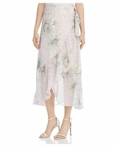 Vince Camuto Floral-Print Midi Wrap Skirt - 100% Exclusive