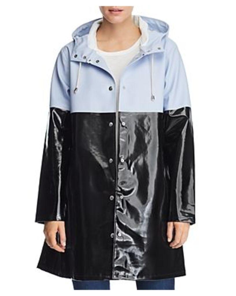 Stutterheim Mosebacke Color-Block Raincoat - 100% Exclusive