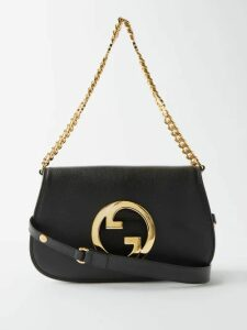 Comme Des Garçons Girl - Drawstring Neck Striped Cotton Midi Dress - Womens - Navy