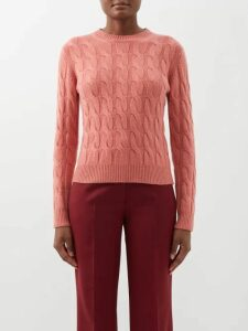 Junya Watanabe - High Rise Pleated Organza Midi Skirt - Womens - Black