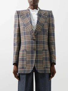 Lee Mathews - Elsie Tiered Cotton Blend Skirt - Womens - Light Brown
