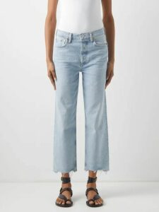 By Walid - Tanita Floral Embroidered Silk Coat - Womens - Yellow