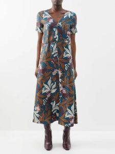 Heimat Atlantica - Amor Reed Basket Bag - Womens - Red Multi